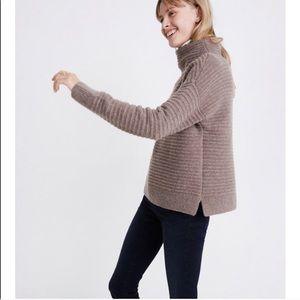 NWT Madewell mockneck Sweater